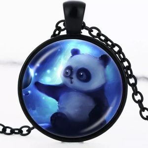 Jewelry - Panda necklace 🐼